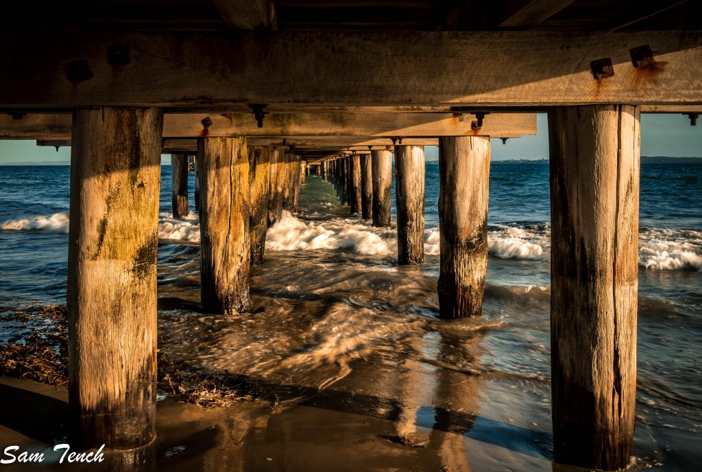 Pier photo by Sam Tench